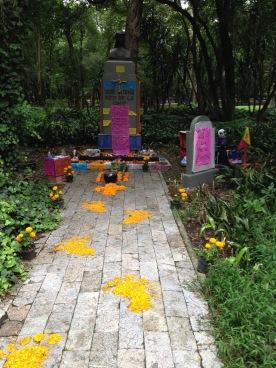 Altar dia de muertos