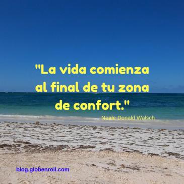 La vida comienza al final de tu zona de confort