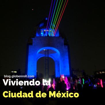 Ciudad de Mexico Globe n Roll
